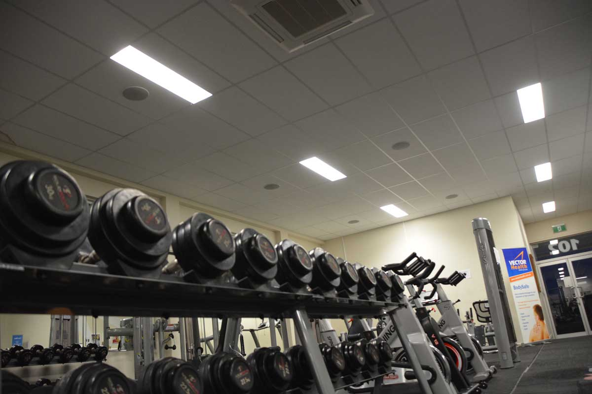 Vector Health Rockhampton – Yamaha in-ceiling commercial audio system.