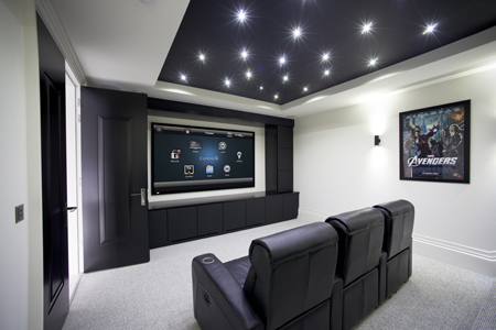 Home Theatre Media Rooms Image